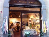 Le Telerie Toscane(レ テレリエ トスカーネ);  トスカーナファブリック(キッチン&バス用)のお店