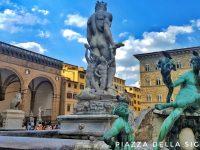 シニョーリア広場の美しい彫刻と名所をご紹介!