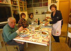 イタリアマンマのお料理教室!
