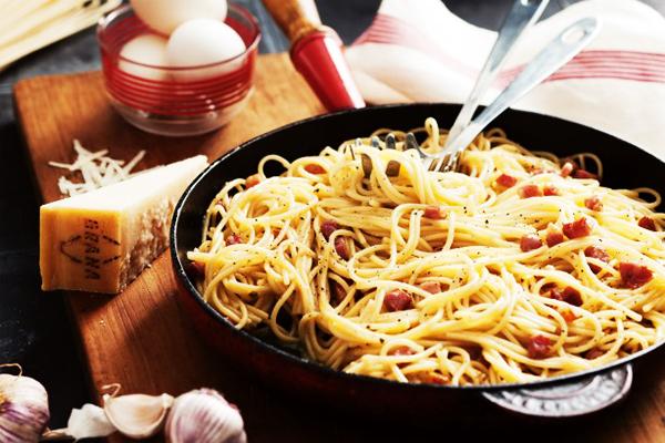 spaghetti alla carbonala