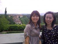 福岡からお越しの河野様ご夫妻 フィレンツェ+トスカーナの旅
