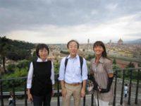大阪からお越しの足立様ご夫妻 からのお手紙 :フィレンツェ観光&工房見学