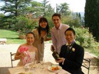 東京からお越しの山城様ご夫妻  イタリア海外挙式とご両家のトスカーナ旅行