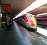 イタリアの新幹線freccia argentoへの乗り方(最近「簡易改札」になりましたよ!)