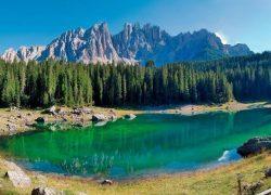 北イタリア;ドロミテ渓谷、アオスタ渓谷の自然世界遺産の旅