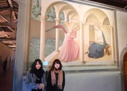仲良しお友達旅行! 冬のフィレンツェ観光1日美術巡り