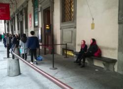 8月のイタリアは、無人の街?