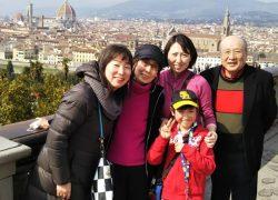 イタリア家族旅行!三世代の記念旅行は美術鑑賞と美食の旅!