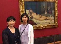 イタリアリピーター!仲良し女友達とフィレンツェの美術館鑑賞の旅