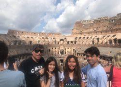 イタリアで夏休みの家族旅行満喫!